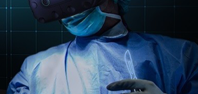 Fundamental Surgery Now Supports the Vive Pro Eye Headset, Allowing Users to Have a More Seamless and Better Measured Surgical HapticVR™ Training Experience