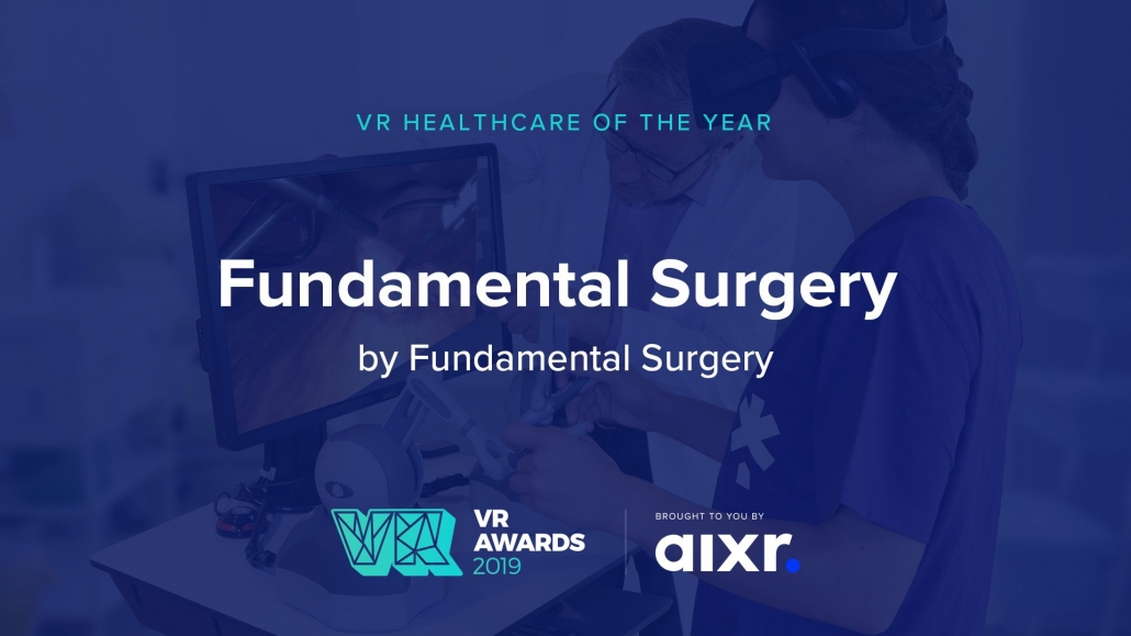 VR Healthcare of the Year recognises projects that are changing the landscape of healthcare industries for good, awarding both B2B and B2C solutions that can demonstrate a clear impact and understanding of the market.