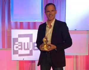 We are thrilled to announce that we have won the prestigious Auggie Award for 'Most Impactful Breakthrough' for 2018 from @ARealityEvent! Thank you to all involved, we continue to push forward and strive for #betterpatientoutcomes