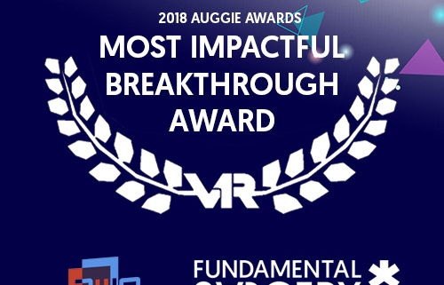 Fundamental surgery win Auggie Award 2018 for most impactful breakthrough