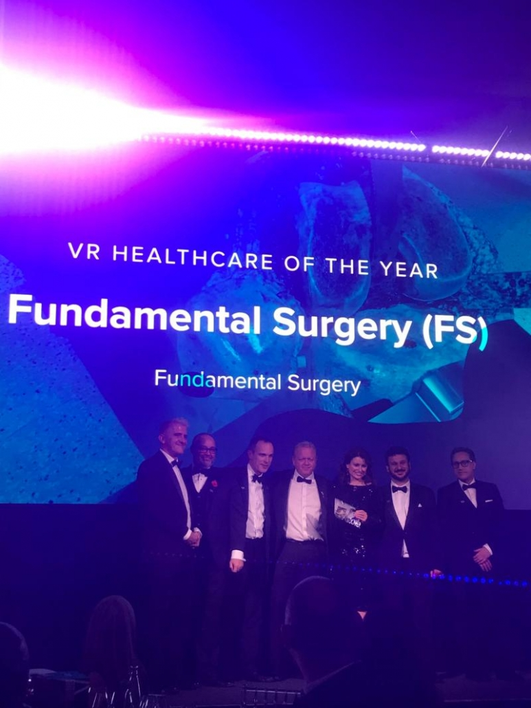 Fundamental Surgery are very proud to be recognised for this award. The future of surgical training is changing and we are striving towards bettering patient outcomes.